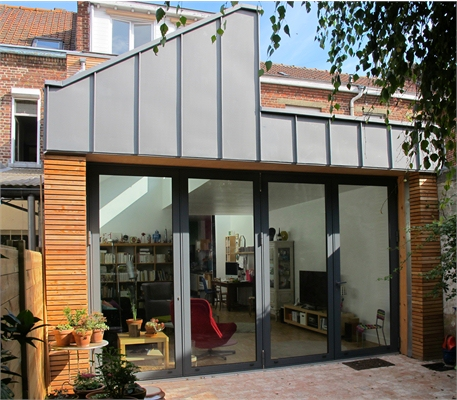 R Novation Extension D 39 Une Maison De Ville Lille 59